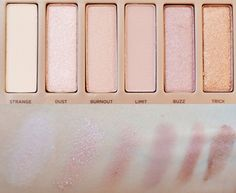 Naked 3 swatches - Part 1 http://lejoliblog.com/2014/04/06/naked-3-durban-decay-50-nuances-roses/