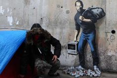 New Banksy Mural Pieces Will be Protected and Secured by the City of Calais