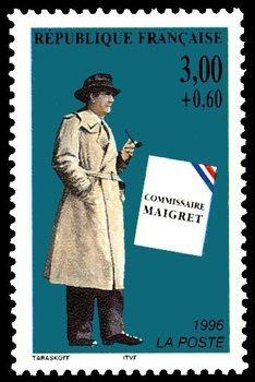Georges Simenon: Maigret: http://d-b-z.de/web/2013/02/13/briefmarken-georges-simenon/