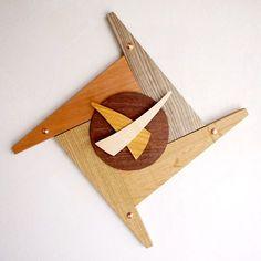 Handcrafted Wooden Clocks | ... -IGETA) (logging) | Watch | clock | wall clocks | かけ時計 | wood