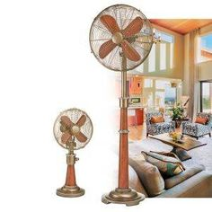 Savery Table Top Fan. Floor Fans