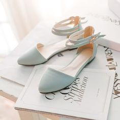 Buy 'Pastel Pairs – Strapped Flats' with Free International Shipping at YesStyle.com. Browse and shop for thousands of Asian fashion items from China and more!