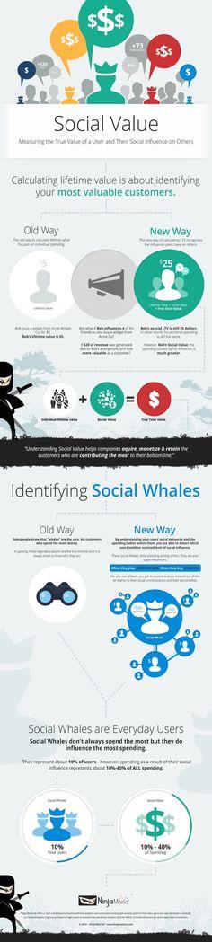 Infográfico: como mensurar o valor do usuário