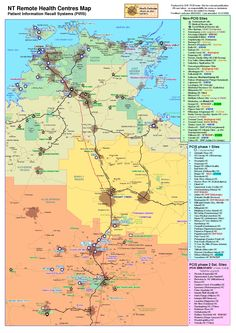 Great map of Northern Territory