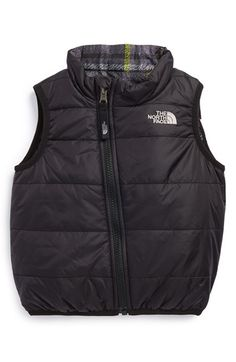 Baby Boy North Face Vest... Reversible!