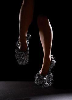745c91964ce4 Meterorite Shoes by Studio Swine Glass Slipper