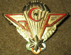 GABON AIRBORNE PARATROOPER COMMANDO JUMP WINGS INSIGNIA By DRAGO PARIS