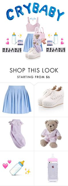 """MELANIE MARTINEZ "" by jasloves5sos ❤ liked on Polyvore featuring Alice + Olivia, Lexington, cute, tumblr, melaniemartinez and Crybaby"