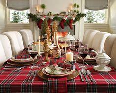 Tartan plaid for Christmas!