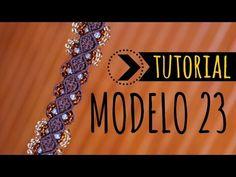 Te enseño a hacer esta bella pulsera, modelo 23 :) CLICK PARA VOTAR: ► https://goo.gl/MuB0rx TUTORIAL NUDOS CORDÓN: ► https://www.youtube.com/watch?v=HRZTtkF...