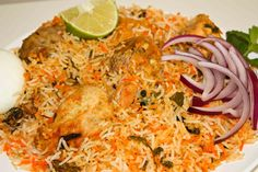 Hyderabadi Chicken Biryani Recipe in kannada
