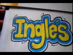 IDEAS PARA MARCAR TUS CUADERNOS-Cómo hacer portada de matemáticas con letra TIMOTEO - YouTube School Notebooks, Art Sketches, Hand Lettering, Coloring Pages, Doodles, Bullet Journal, Organization, Teaching, Logos