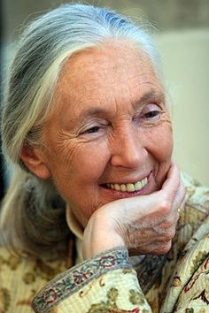 Somriure Jane Goodall