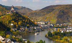 Beyond Frankfurt - the Rhine Valley