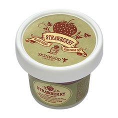 SKINFOOD, Black Sugar Strawberry Mask Wash Off SKIN FOOD | KollectionK