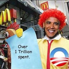 Obama is a clown There you go. See, I told you.....BOZO ! Oh, and he is a ASSHOLE too !