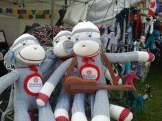 Twitter / mariposafolk: #Sockmonkeys playing around ...