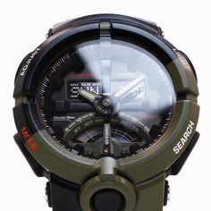 G-Shock GA-500K-3A x CHARI&CO collaborative timepiece