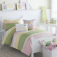 Victoria Classics Lazy Daisy 2-Piece Twin Comforter Set In Pink -