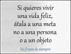 Las frases de siempre:  Mereces ser feliz   No te merece aquel, quién con...