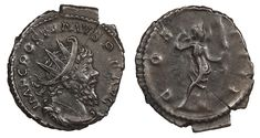 ROMAN IMPERIAL Postumus AE Antoninianus 259-268 A.D. Near EF COS IIII  Price : $50.00  Ends on : 2 weeks Order Now