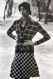 Naomi Sims, the first Black supermodel pinned by www.boskybelle.com