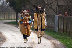 クケリ (via Ancient Ritual- Mummers (kukeri, Babugeri), Bulgaria)