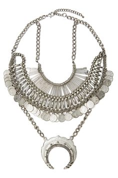 Coined It Necklace   Shop What's New at Nasty Gal