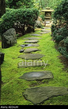 japanese flagstone path - Google Search