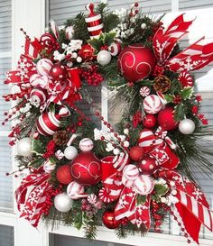 PEPPERMINT HOLIDAY XL Christmas Candy by DecorClassicFlorals