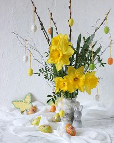 Ostern Easter Dessert, Snacks, Glass Vase, Easter, Home Decor, Pictures, Fast Recipes, Biscuits, Easy Meals