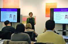 Etela Ivkovic speaking at Webgrrls International NYC Chapter about advanced SEO. Marketing Topics, Digital Marketing Strategy, Online Marketing, Real People, Adventure Travel, Seo, Improve Yourself, Workshop, Coding