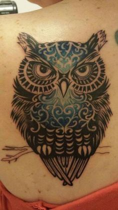 http://tattoo-ideas.us Beautiful owl tattoo