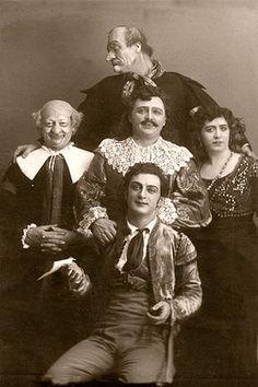 Il barbiere di Siviglia (Rossini) - rappresentazione del 15 novembre 1913 al teatro Bolsoj di Mosca