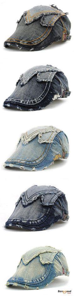 US$9.69 + Free shipping. Cotton cap, Denim washed cap, newsboy beret hat cap, duckbill golf buckle cabbie cap for men women. Material:100%Cotton. Color: blue, beige, gray, white, coffee.