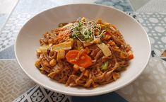 Nudle soba s uzeným tofu Tofu, Ethnic Recipes