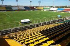Estádio jonas Duarte - Anápolis (GO) - Capacidade: 10,7 mil - Clubes: Anápolis, Anapolina e Frêmio Anápolis