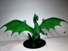 Green Dragon  Original Model From http://www.shapeways.com/designer/mz4250/creations
