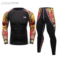 Men Compression Shirts And Pants MMA Rashguard Keep Fit Fitness Long Sleeves Base Layer Skin Tight Weight Lifting Elastic Mens T Shirts     Tag a friend who would love this!     FREE Shipping Worldwide     Buy one here---> http://www.wodcasual.com/men-compression-shirts-mma-rashguard-keep-fit-fitness-long-sleeves-base-layer-skin-tight-weight-lifting-elastic-mens-t-shirts/