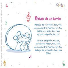 EL NIÑO QUE A UN TENEMOS Preschool Spanish, Spanish Lessons For Kids, Preschool Songs, Spanish Activities, Teaching Spanish, Kids Rhymes Songs, Songs For Toddlers, Rhymes For Kids, Nursery Songs