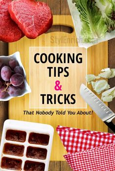 20 Cooking Tips and Tricks that Nobody Told You About! | StylEnrich