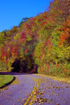 Beautiful day for a fall drive in the North Carolina mountains