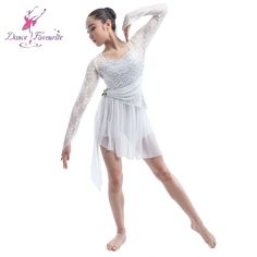 Aliexpress.com   Buy Dance Favourite silver sequin and lace leotard dress  for girls ballet   Lyrical dance show costume kids contemporary dress16034  from ... fec5c1ad61cf