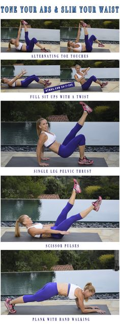 Ab Workout. #abs #fitness #exercise #workout #weightloss #health #muscles