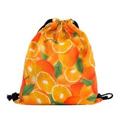 """Orange you glad you now have a Shelfies bag to stuff all your fruit into?"""