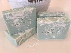 Moroccan MintAn amazing Fragrance from @brambleberry A lovely minty scent that gives you a spa like feel. Contains Kaolin Clay, Cocoa Butter, Avocado Oil and Aloe Vera Juice to name a few. #coldprocesssoap #handcraftedsoap #handmadesoap #soapshare #soaping #soapy #moroccanmint #minty #spalike #refreshingscent #smallbatch #cottagesoapery #aloejuice #cocoabutter #soapmaking #soapcrafting #artisansoap