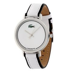 Relógio Lacoste Club Collection Nice White Dial Women's watch #2000501 #lacoste #relogio