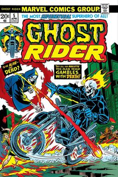 Book Cover Art, Comic Book Covers, Comic Books Art, Book Art, Ghost Rider Johnny Blaze, Ghost Rider Marvel, Horror Comics, Marvel Comics, Comics Vintage