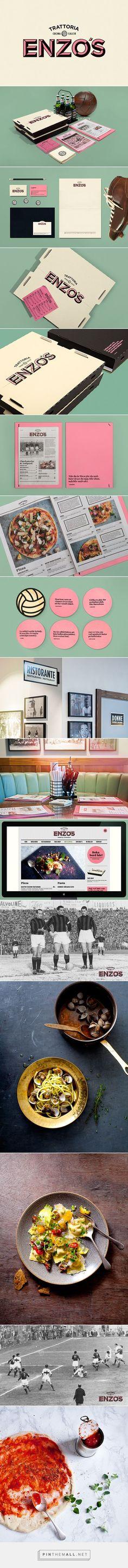 Enzo's Branding on Behance | Fivestar Branding – Design and Branding Agency & Inspiration Gallery