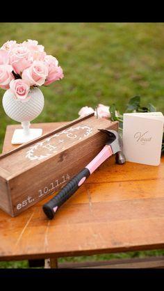 Wedding wine box, first fight box, wedding wine ceremony by FreestyleMom on Etsy https://www.etsy.com/listing/194073407/wedding-wine-box-first-fight-box-wedding